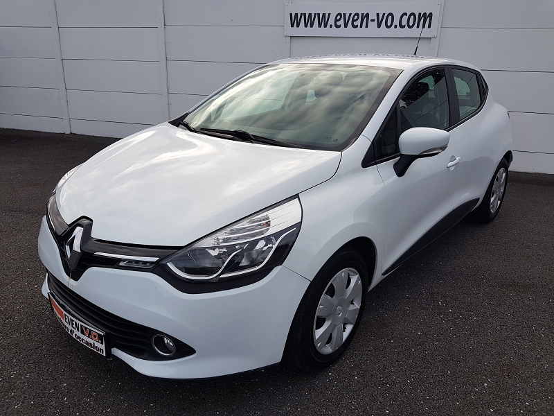 Renault CLIO IV STE 1.5 DCI 75CH ENERGY AIR MEDIANAV EURO6 Diesel BLANC Occasion à vendre