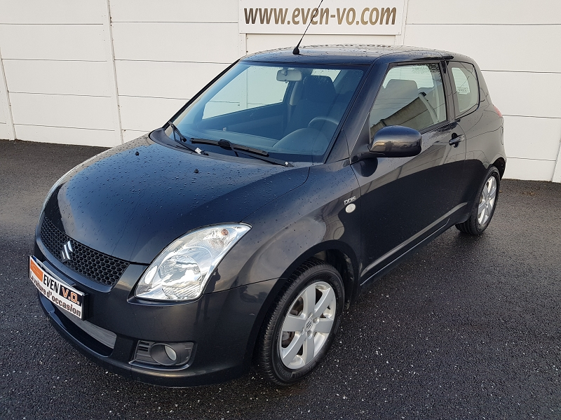 Suzuki SWIFT 1.3 DDIS 75CH SWIFT IN THE CITY 3P Diesel NOIR Occasion à vendre