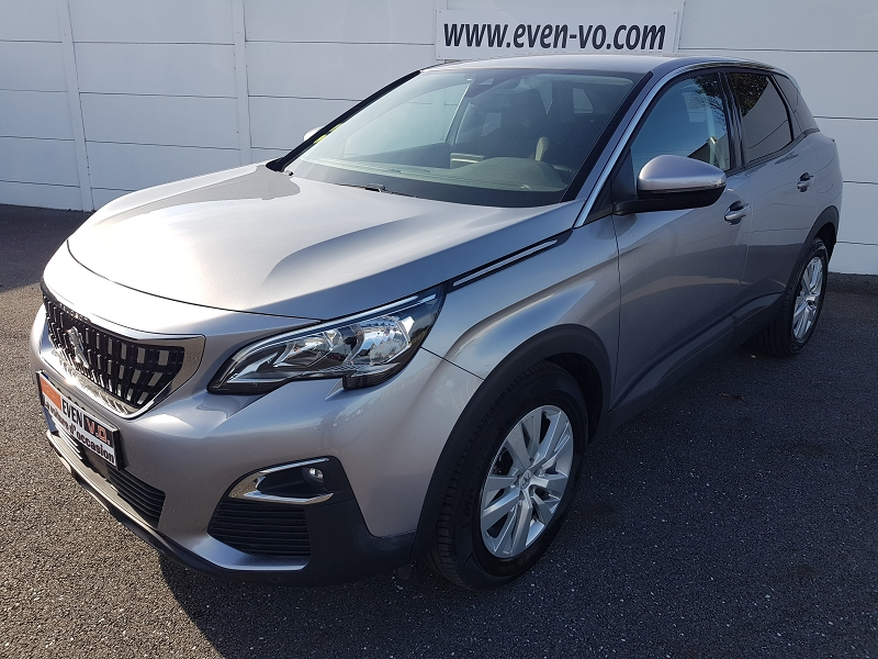 Peugeot 3008 1.6 BLUEHDI 120CH ACTIVE BUSINESS S&S EAT6 Diesel GRIS  Occasion à vendre