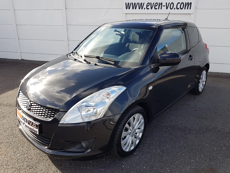Suzuki SWIFT 1.2 VVT GLX BA 3P Essence NOIR Occasion à vendre