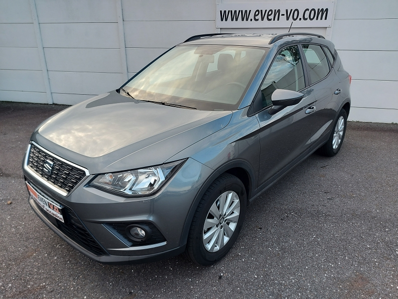 Seat ARONA 1.0 ECOTSI 95CH START/STOP STYLE Essence GRIS  Occasion à vendre