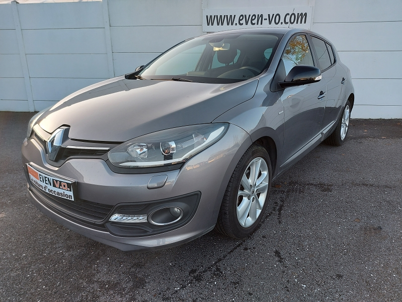 Renault MEGANE III 1.5 DCI 110CH ENERGY LIMITED ECO² Diesel GRIS Occasion à vendre